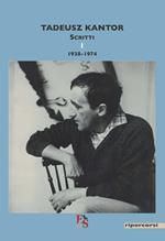Scritti. Vol. 1: 1938-1974.