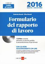 Formulario del rapporto di lavoro . Con CD-ROM