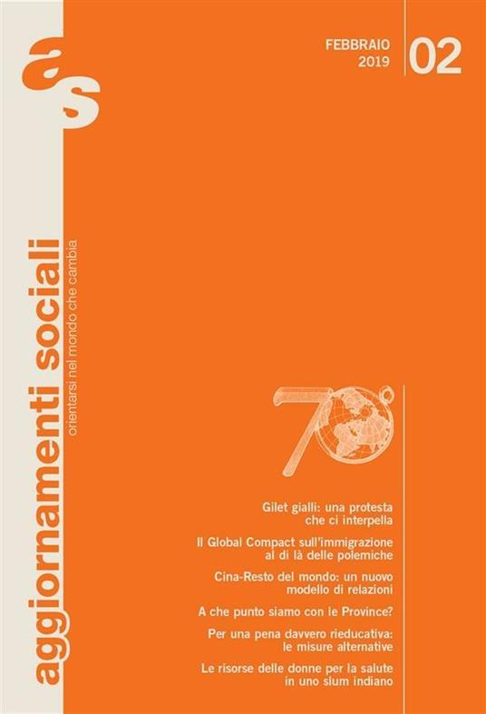 Aggiornamenti sociali (2019). Vol. 2 - Aggiornamenti Sociali - ebook