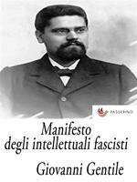 Manifesto degli intellettuali fascisti