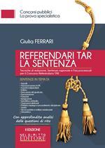 40 referendari TAR. La sentenza