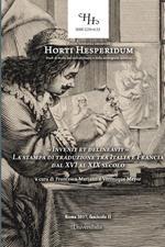 «Invenit et delineavit». La stampa di traduzione tra Italia e Francia dal XVI al XIX secolo. Atti del Convegno (Roma, 7 giugno 2016)