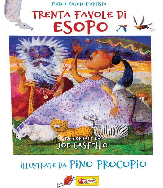 Trenta favole di Esopo - Joe Castello - copertina