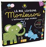 L' alfabeto degli animali. La mia lavagna Montessori. Ediz. illustrata. Con gadget