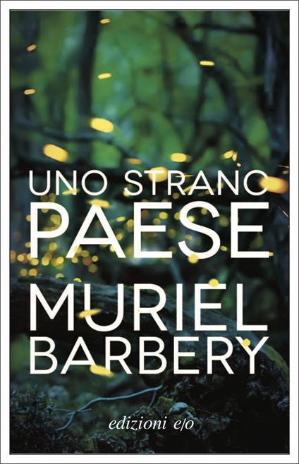 Uno strano paese - Muriel Barbery - copertina