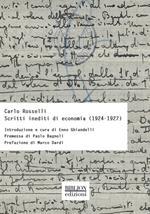 Scritti inediti di economia (1924-1927)