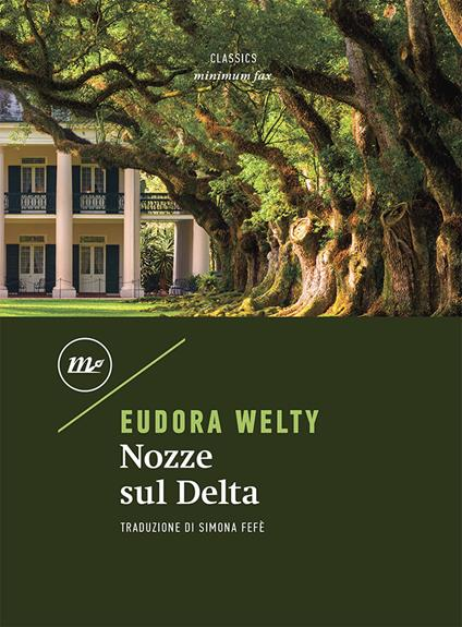 Nozze sul delta - Eudora Welty - copertina
