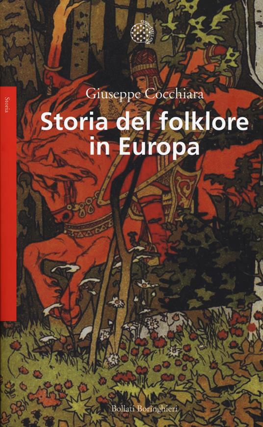 Storia del folklore in Europa - Giuseppe Cocchiara - copertina
