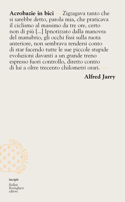 Acrobazie in bici - Alfred Jarry,Carla Scaramella - ebook
