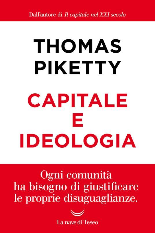 Capitale e ideologia - Thomas Piketty - copertina