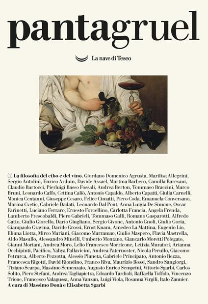 Pantagruel (2020). Vol. 1: filosofia del cibo e del vino, La. - copertina