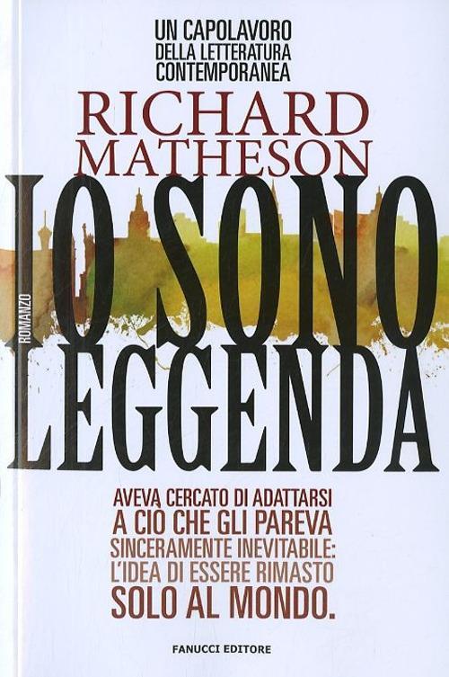 Io sono leggenda - Richard Matheson - copertina