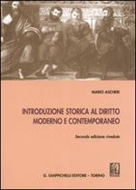 Introduzione storica al diritto moderno e contemporaneo