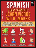 Spanish (Easy Spanish) Learn Words With Images (Vol 11)
