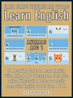 Animals ABC 1 - Flash Cards Pictures and Words Learn English