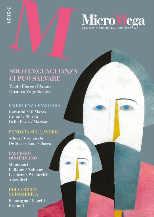 Micromega (2020). Vol. 3 - copertina
