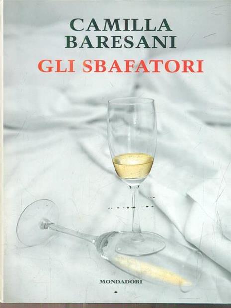 Gli sbafatori - Camilla Baresani - copertina