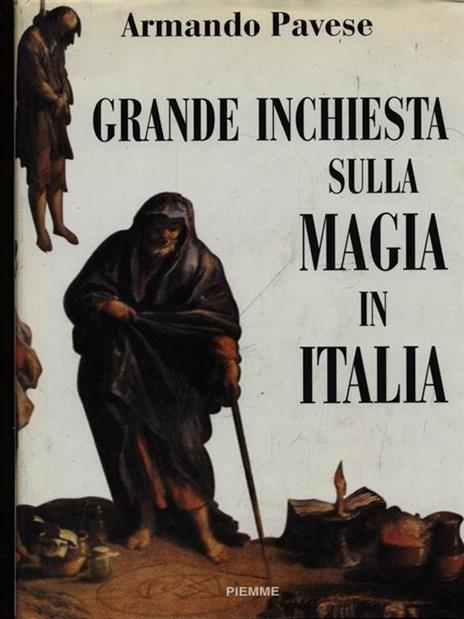 Grande inchiesta sulla magia in Italia - Armando Pavese - copertina