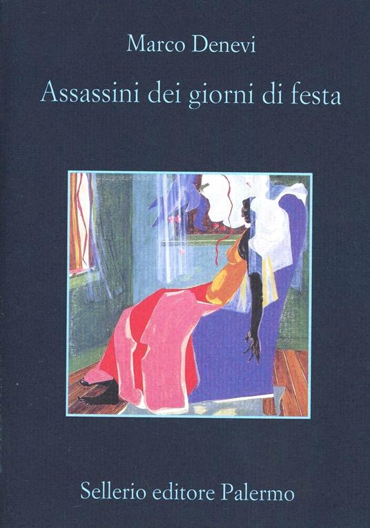 Assassini dei giorni di festa - Marco Denevi - copertina