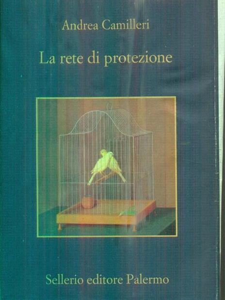 La rete di protezione - Andrea Camilleri - copertina