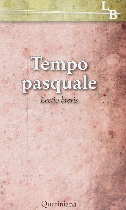Tempo pasquale. Lectio brevis - Pier Giordano Cabra,Giorgio Zevini - copertina
