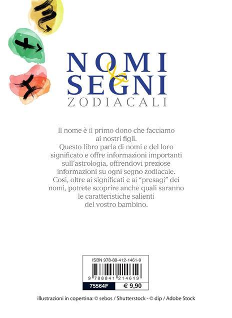 Nomi e segni zodiacali - Chiara Bertrand - 2