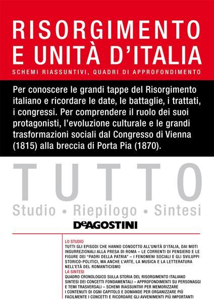 Tutto Risorgimento e Unità d'Italia - Alessandro Frigerio - ebook