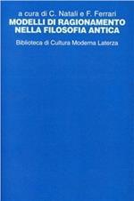 Modelli di ragionamento nella filosofia antica