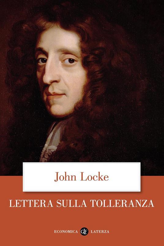 Lettera sulla tolleranza - John Locke - copertina