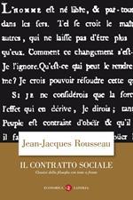 Il contratto sociale. Testo francese a fronte