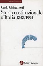 Storia costituzionale d'Italia 1848-1994
