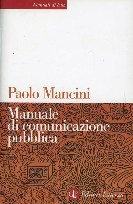Manuale di comunicazione pubblica - Paolo Mancini - copertina