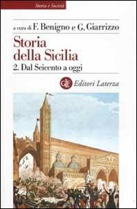 Storia della Sicilia. Vol. 2: Dal Seicento a oggi. - copertina