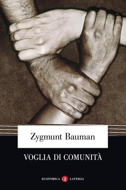 Voglia di comunità - Zygmunt Bauman - copertina