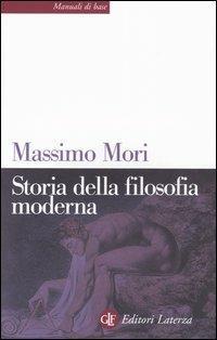 Storia della filosofia moderna - Massimo Mori - copertina