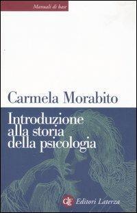 Introduzione alla storia della psicologia - Carmela Morabito - copertina