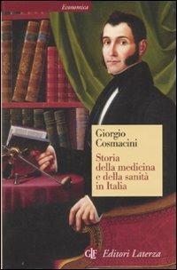 Storia della medicina e della sanità in Italia. Dalla peste nera ai giorni nostri - Giorgio Cosmacini - copertina