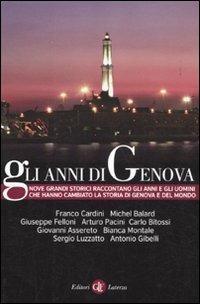 Gli anni di Genova - copertina