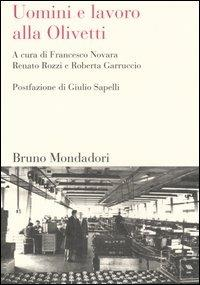 Uomini e lavoro alla Olivetti - copertina