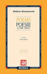 Poems-Poesie (1798-1807). Testo a fronte inglese