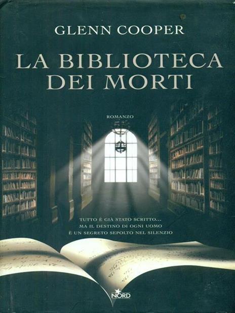 La biblioteca dei morti - Glenn Cooper - 2