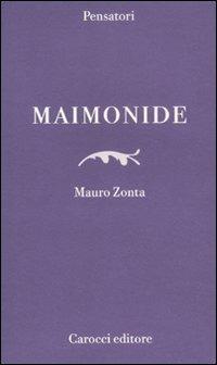 Maimonide -  Mauro Zonta - copertina