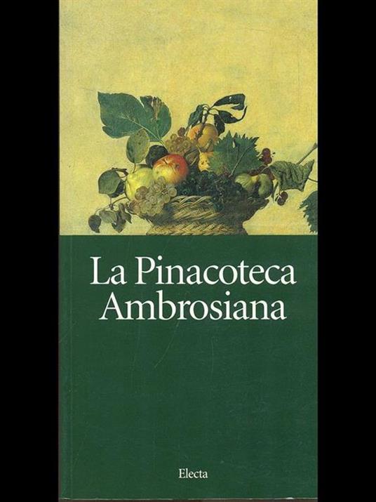La pinacoteca ambrosiana - Marco Rossi,Alessandro Rovetta - copertina
