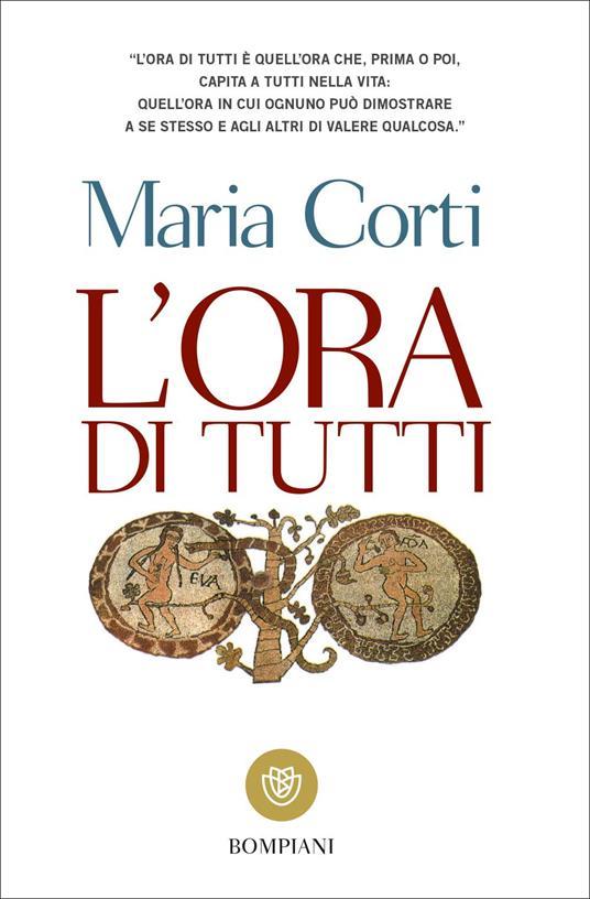 L' ora di tutti - Maria Corti - copertina