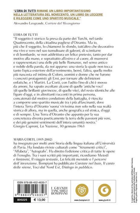 L' ora di tutti - Maria Corti - 2