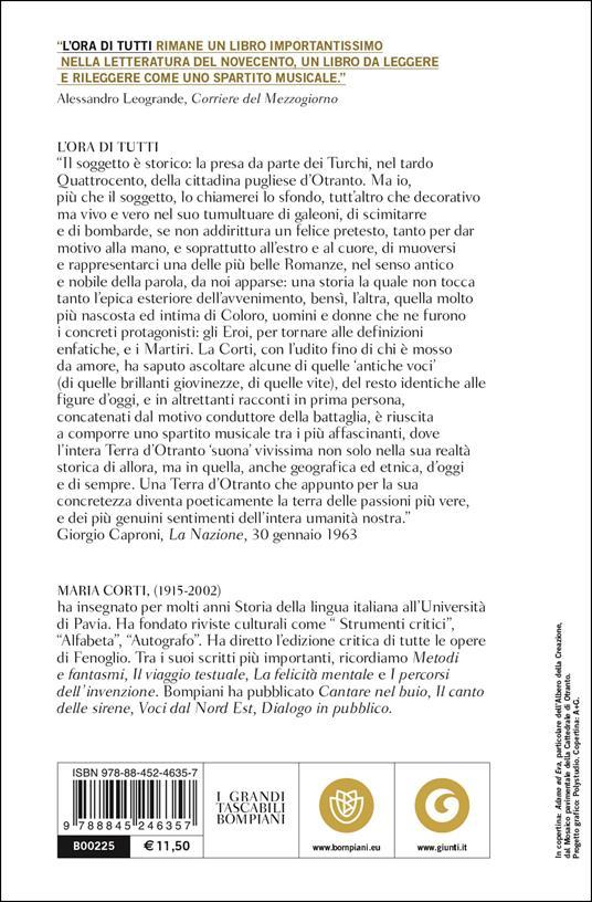L' ora di tutti - Maria Corti - 3