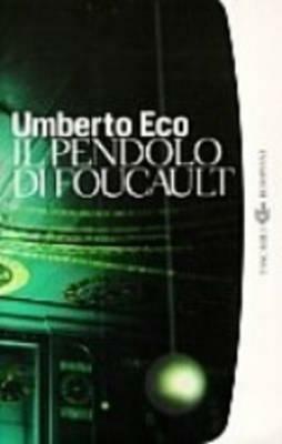 Il pendolo di Foucault -  Umberto Eco - copertina