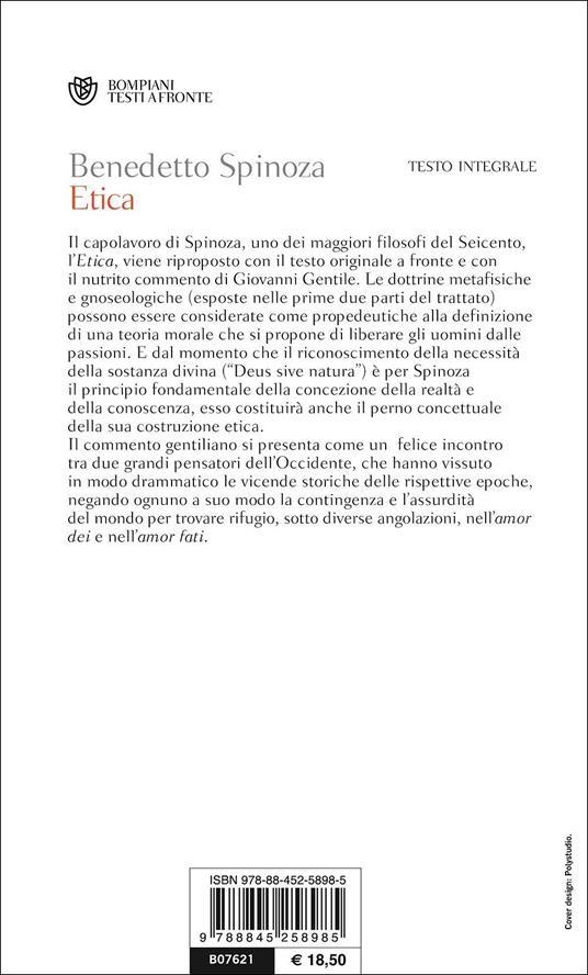 Etica. Testo latino a fronte - Baruch Spinoza - 3