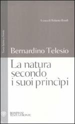 La natura secondo i suoi principi. Testo latino a fronte