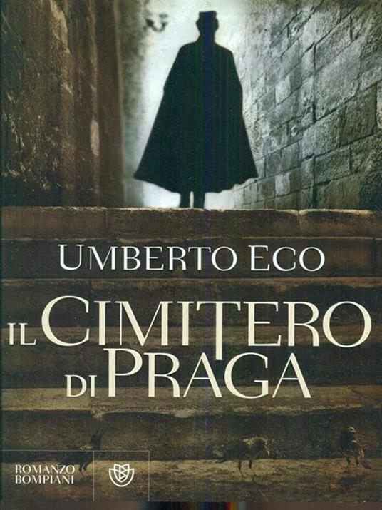 Il cimitero di Praga - Umberto Eco - copertina